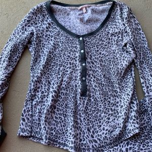 Victoria's Secret Intimates & Sleepwear - Fireside Long Jane thermal Pajama Set cheetah